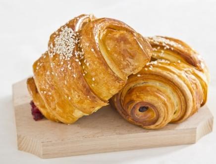 Croissant cu gem